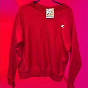Champion crewneck sweater nwt